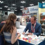 Author O'Brien Browne at New York City Book Expo